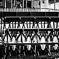 Picture Of Natchez Steamboat Paddle Wheel In New Orleans by Paul Velgos