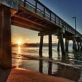 Pier Sunrise by Michael Thomas