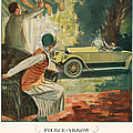 Pierce Arrow 1925 1920s Usa Cc Cars Print by The Advertising Archives
