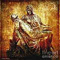 Pieta Via Dolorosa 13 by Lianne Schneider