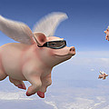 Pigs Fly by Mike McGlothlen
