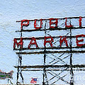 Pike Place Market by Linda Woods