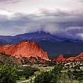 Pikes Peak Storm by Rod Seel