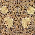 Pimpernel Wallpaper Design by William Morris