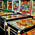 Pinball Alley by Benjamin Yeager