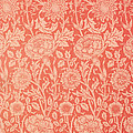 Pink And Rose Wallpaper Design by William Morris