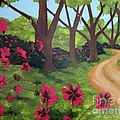 Pink Azalea Path