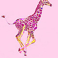 Pink Baby Giraffe
