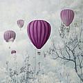 Pink Balloons by Jelena Jovanovic