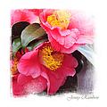Pink Camellia. Elegant Knickknacks by Jenny Rainbow