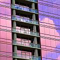 Pink Glass Clouds by Randall Weidner