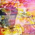 Pink Vineyard Plumps by PainterArtist FIN