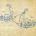 Pirate Ship Patent Artwork - Vintage by Nikki Marie Smith