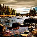 Piscataquis River Dover-foxcroft Maine by Bob Orsillo