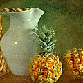 Pitcher With Pineapples by Diana Angstadt