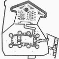 Plan Of The Bastille by Granger