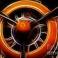 Plane - All Orange by Paul Ward