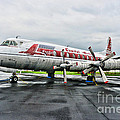Plane Props On Capital Airlines by Paul Ward