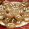 Plateful Of Gingerbread Cookies by Juli Scalzi