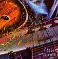 Play It Again Sam Digital Guitar And Banjo Art By Steven Langston by Steven Lebron Langston