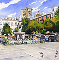 Plaza Bib Rambla by Margaret Merry