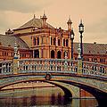 Plaza De Espana 10. Seville by Jenny Rainbow