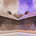 Pleasant View Country Barns by Betsy C Knapp