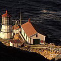 Point Reyes Lighthouse by Ron Sanford