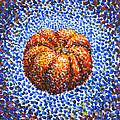 Pointillism Pumpkin Print by Samantha Geernaert