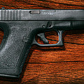 Police - Gun - The Modern Gun  by Mike Savad