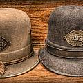 Police Officer - Vintage Police Hats by Lee Dos Santos