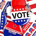 Political Badge Collection by Joe Belanger