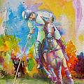 Polo Art Print by Catf