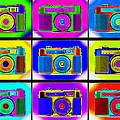 Pop Art Robin Proofs by Mike McGlothlen