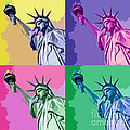 Pop Liberty by Delphimages Photo Creations