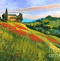 Poppy Hill by Michael Swanson