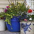 Porch Flowers by Steve and Sharon Smith