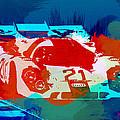 Porsche 917 Racing 1 Print by Naxart Studio