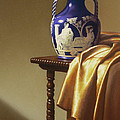 Portland Vase With Cloth by Barbara Groff
