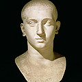 Portrait Bust Of Emperor Severus Alexander by Anonymous