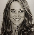Portrait Kate Middleton by Natalya Aliyeva