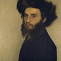 Portrait Of A Young Jewish Man  by Isidor Kaufmann