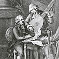 Portrait Of Franz Joseph Haydn by John Francis Rigaud