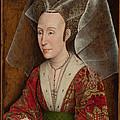 Portrait of Isabella of Portugal  Print by Workshop of Rogier van der Weyden