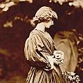 Portrait Of Jane Morris by John Parsons