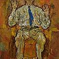 Portrait Of Paris Von Gutersloh by Egon Schiele