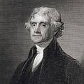 Portrait Of Thomas Jefferson by Henry Bryan Hall