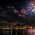 Portsmouth Nh Fireworks 2013 by Scott Thorp