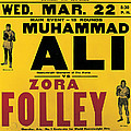 Poster Advertising The Fight Between Muhammad Ali And Zora Folley In Madison Square Garden by American School