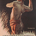 Poster Advertising the French National Loan Print by B Chavannaz